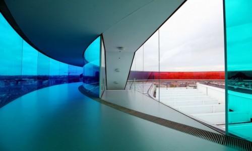 DANIA / Aarhus / Muzeum Sztuki ARoS / Tęczowa panorama