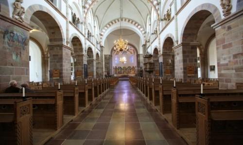 Zdjęcie DANIA / Ribe / Katedra Najświętszej Maryi Panny / Nawa główna, ołtarz