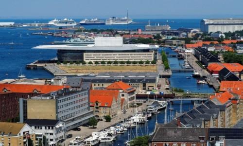 Zdjęcie DANIA / Kopenhaga / Christianshavn / Z góry...