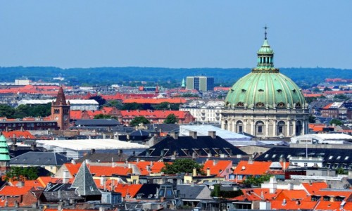 Zdjecie DANIA / Kopenhaga / Christianshavn / Widok na Kopenhagę