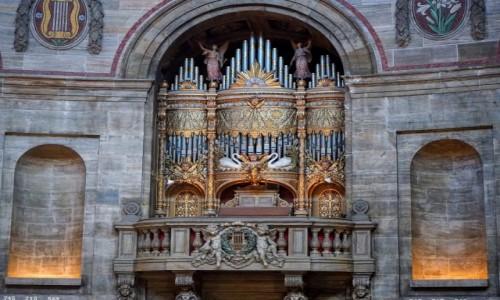 Zdjecie DANIA / Kopenhaga / Kościół Fryderyka / Organy