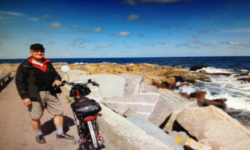 Zdjecie DANIA / Bornholm / nad brzegiem / Na Bornholmie