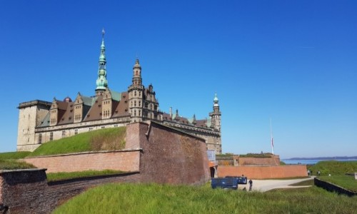 Zdjecie DANIA / Wschodnia Dania / Miasto Helsingor / Zamek Hamleta