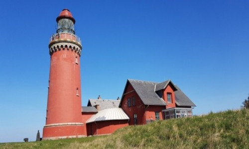 Zdjecie DANIA / Środkowa Jutlandia  / Okolice  Ferring / Latarnia morska Bovbjerg