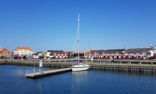 Zdjecie DANIA / Północna Jutlandia / Mały port jachtowy w Skagen / Porcik w Skagen