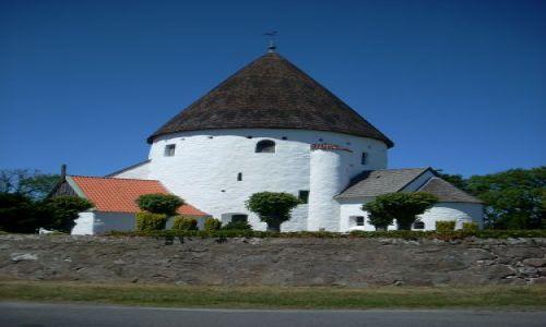 Zdjecie DANIA / brak / Bornholm / Kościół obronny.