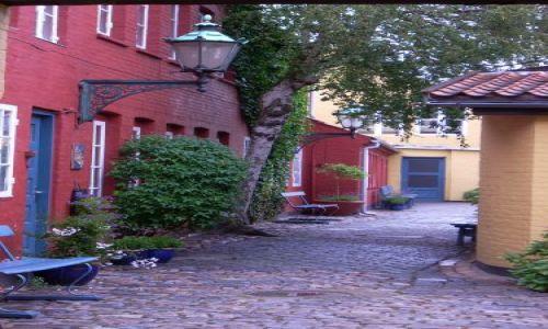 Zdjęcie DANIA / Bornholm / Ronne / Podwórko
