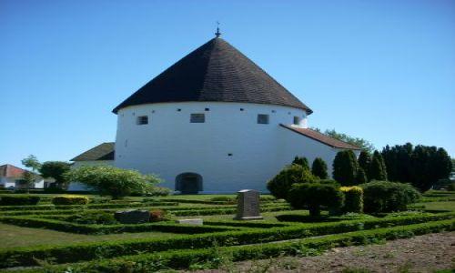 DANIA / Bornholm / brak / Kościół obronny.