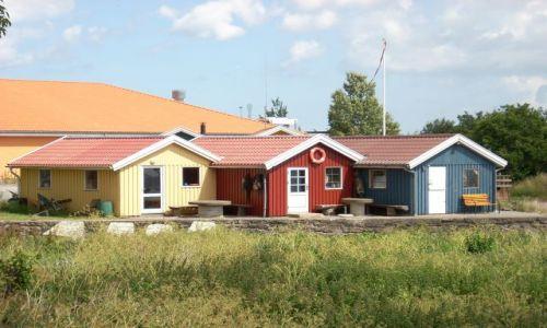 DANIA / Bornholm / Balka / Bornholmskie domki.