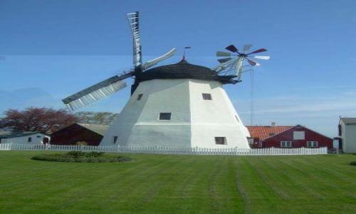 Zdjecie DANIA / Bornholm /  W drodze z Nexo / Wiatrak na Bornholmie