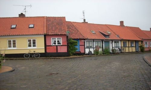 Zdjęcie DANIA / Bornholm. / Ronne / Bornholm. Mały domek.