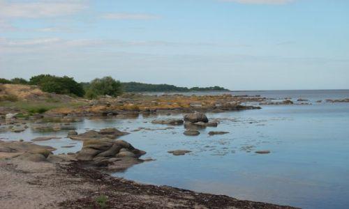 DANIA / Bornholm / Arsdate / Bornholm. Kamienna plaża