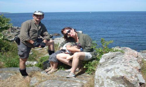 DANIA / Bornholm / Ra / Dla AMKB czyli dlaczego moja żona się nie uśmiecha.