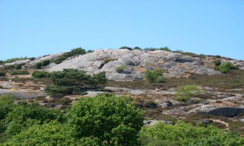 DANIA / Bornholm / Sandving / Bornholm. Kamienna góra.