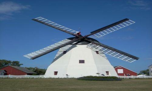 Zdjęcie DANIA / Bornholm. / Arsdale / Bornholm. Wiatrak w Arsdale.