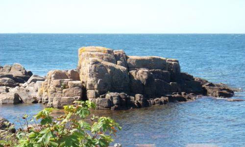 DANIA / Bornholm / Sandving / Bornholm. Skaliste nabrzeże.