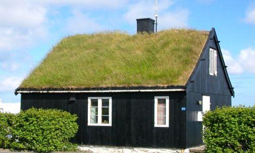 Zdjecie DANIA / Wyspy Owcze / Torshavn / Zabudowa Torshavn