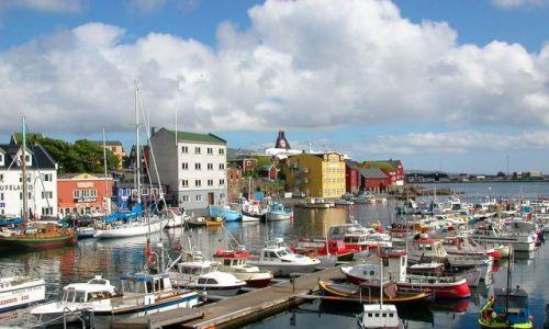 Zdjecie DANIA / Wyspy Owcze / Torshavn / Port Torshavn
