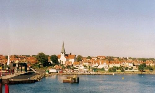 Zdjęcie DANIA / Bornholm / Ronne / Ronne z morza