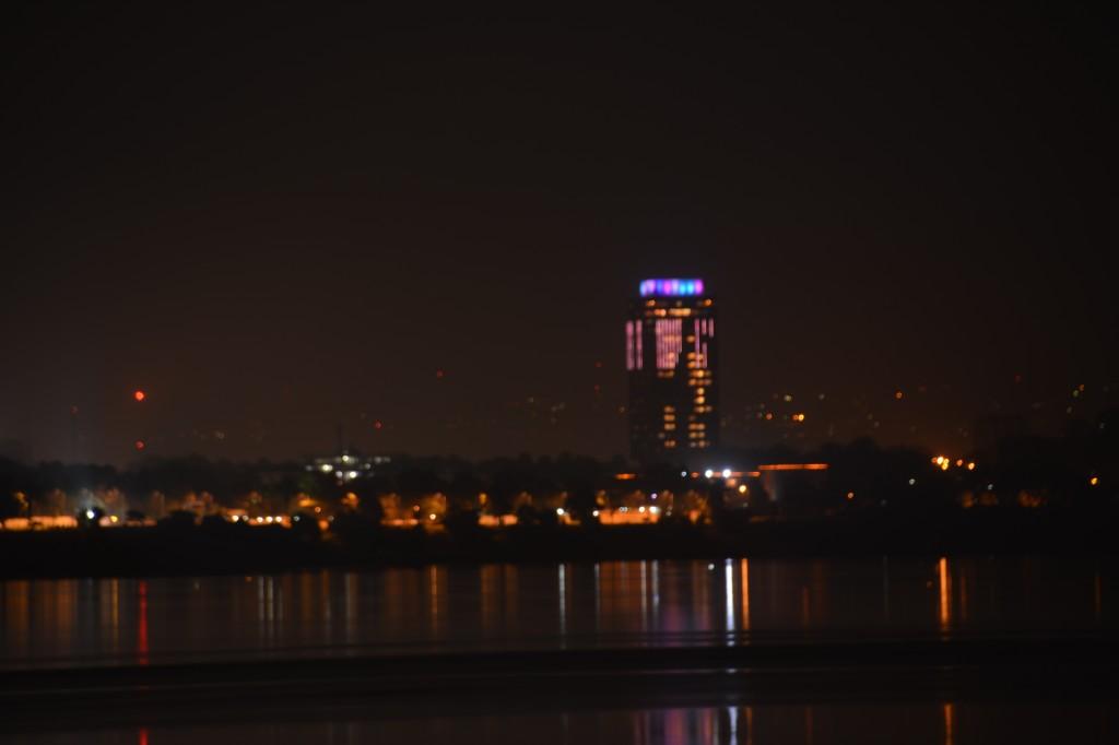 Zdjęcia: Kinszasa, Stolica, Miasto nocą, DEMOKR. REPUBLIKA KONGA