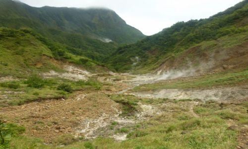 DOMINIKA / Południe / PN Morne Trois Pitons / Dolina Spustoszenia