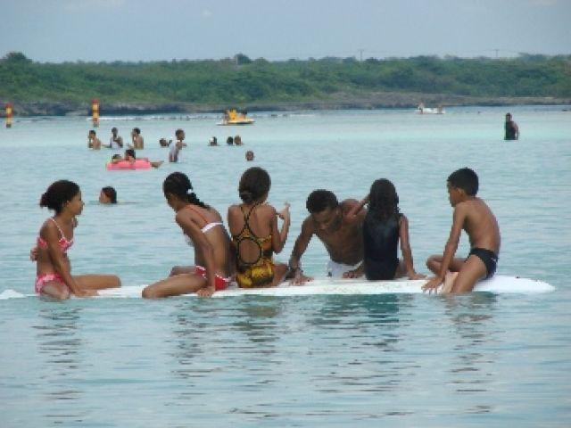 Zdjęcia: Santo Domingo, Plaża Bocha Chica, DOMINIKANA