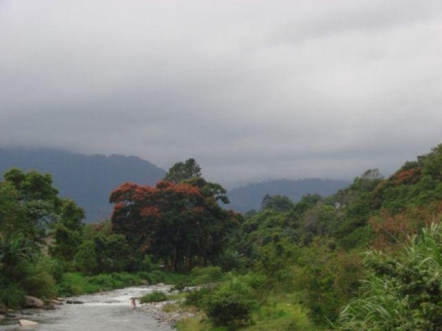 Zdj�cia: Jarabacoa, Jarabacoa, u zbiegu rzek, DOMINIKANA