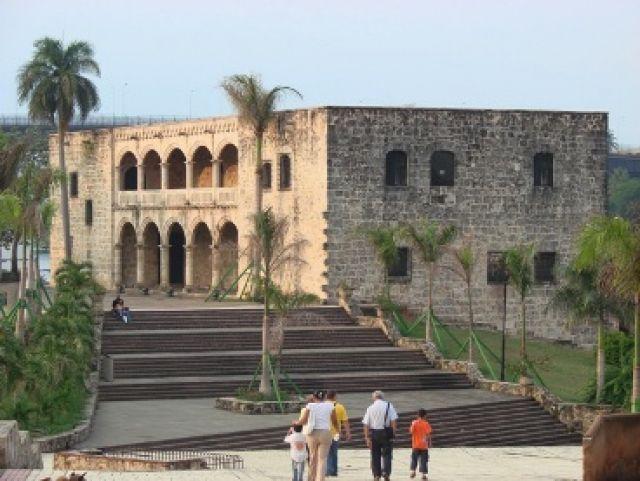 Zdjęcia: Santo Domingo, Zona Colonial- siedziba Kolumba, DOMINIKANA