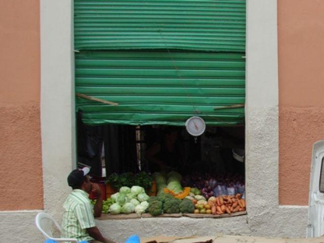 Zdjęcia: Santiago, stragan  na ulicach Santiago, DOMINIKANA