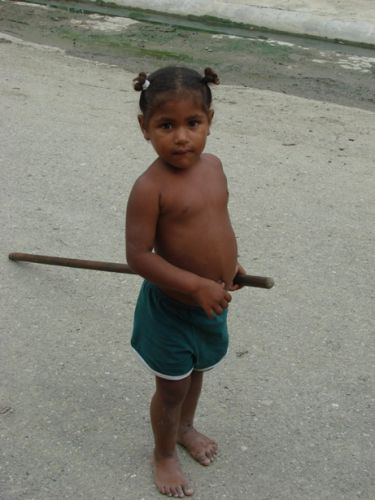 Zdjęcia: Puerto Plata, biedny brzusio, DOMINIKANA
