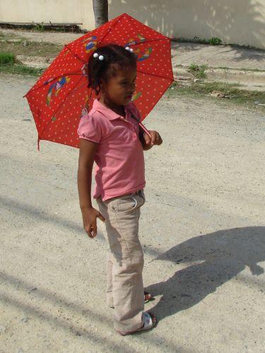 Zdjęcia: Santo Domingo, pod parasolem, DOMINIKANA