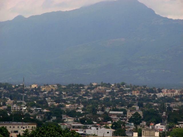 Zdjęcia: Snatiago, widok na Santiago z El Moniumento, DOMINIKANA