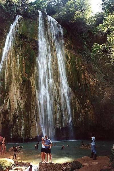 Zdjęcia: dżungla, Cordyliera Środkowa, Wodospad, DOMINIKANA