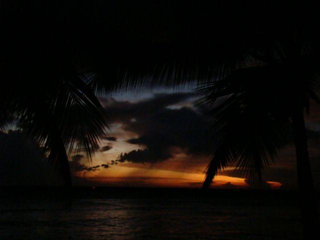 Zdjęcia: morze karaibskie, Bayahibe, Zachód słońca, DOMINIKANA