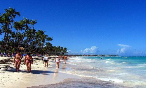 Zdjecie DOMINIKANA / - / morze Karaibskie / Plażowanie