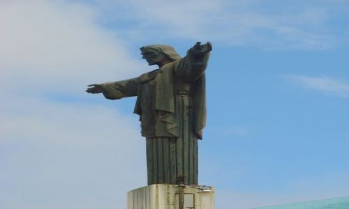 DOMINIKANA / brak / Park Narodowy Loma Isabel de Torres  Puerto Plata / Pos�g Chrystusa