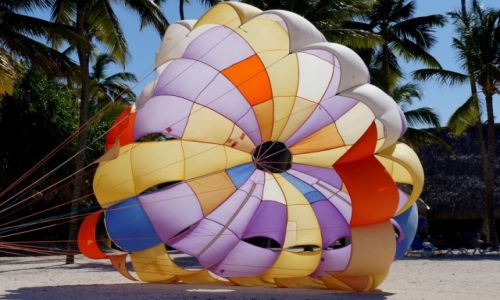 Zdjęcie DOMINIKANA / Wschód wyspy / Punta Cana / Atrakcje  na plaży