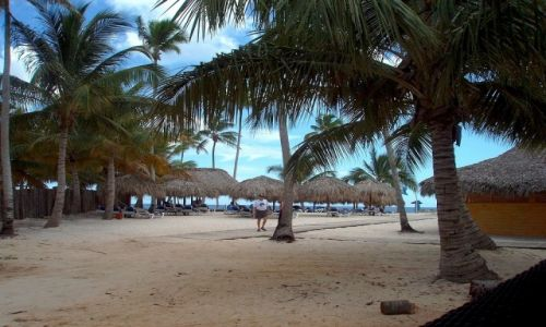Zdjecie DOMINIKANA / Republika Puerto Plata / Puerto Plata / Dojście do plaży
