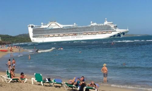 DOMINIKANA / Puerta Plata  / Puerta Plata  / Statek wycieczkowy