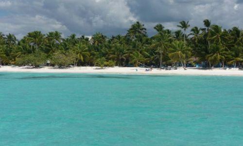 Zdjecie DOMINIKANA / Morze Karaibskie / Wyspa Saona / Krajobraz wyspy