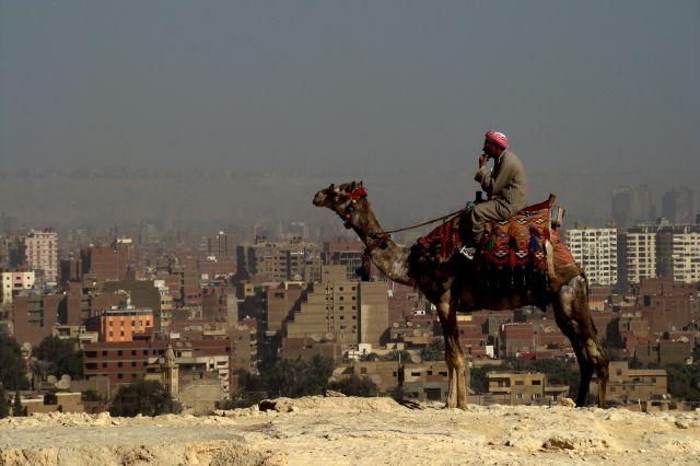 Zdjęcia: KAIR PRZY PIRAMIDACH, XXI wiek?, EGIPT