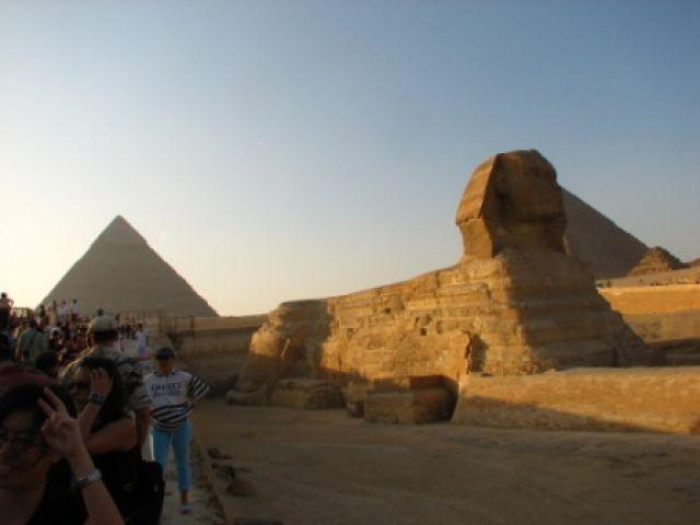Zdj�cia: Giza, Piramidy, Sfinks, EGIPT
