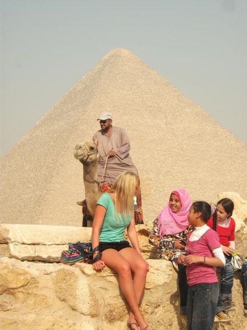 Zdjęcia: Giza, piramida, EGIPT