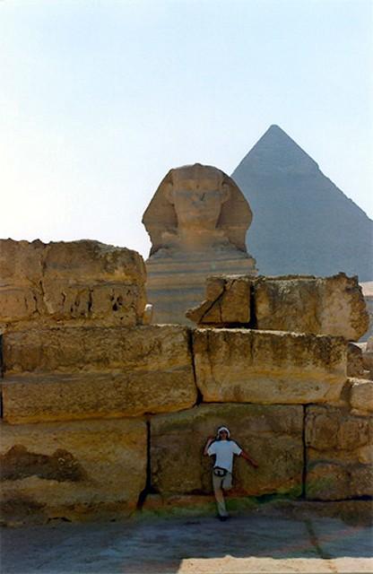 Zdjęcia: Giza, Sfinx, EGIPT