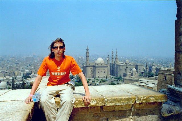 Zdjęcia: Kair, Widok z tarasu Meczetu Muhammada Ali, EGIPT