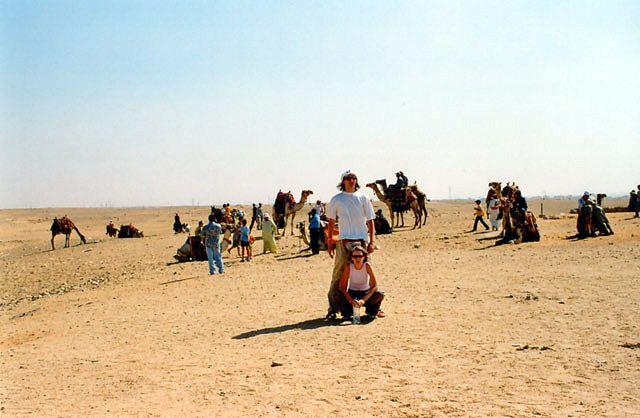 Zdj�cia: Giza, Pod piramidami, EGIPT