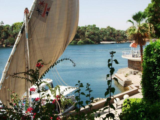 Zdjęcia: Nil, Luksor, Rzut oka na Nil, EGIPT