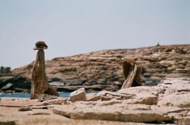 Zdjęcia: Południowe krańce jez. Nassera, Pod granicą z Sudanem, Kurhany Nubii, EGIPT