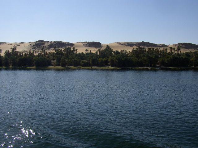 Zdjęcia: pomiędzy Asuanem a Kom Ombo, Nil, EGIPT