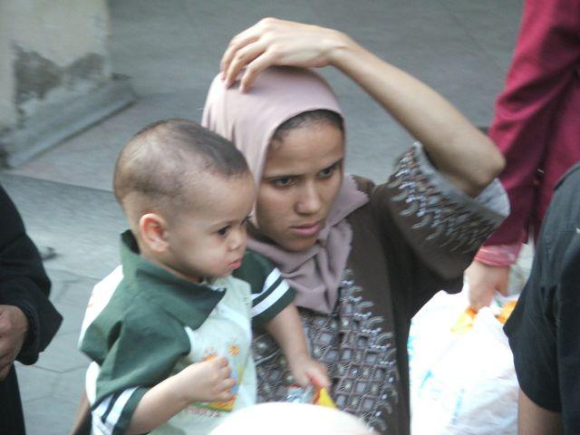 Zdjęcia: Kair, Mama z synkiem, EGIPT